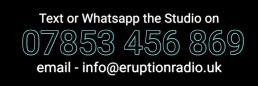 Contact Us Eruption Radio